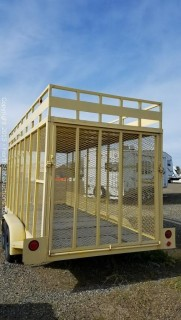 E-ZEE MFG Double Axle Trailer
