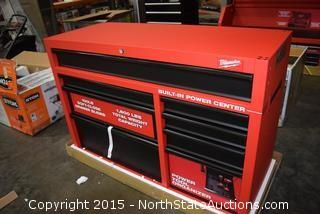 Milwaukee Power Center Tool Box