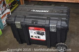 "Husky 37"" Mobile Job Site Box"