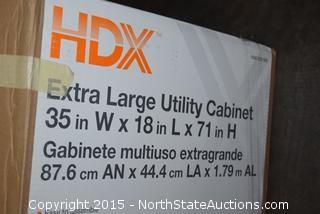 HDX Extra Large Utility Cabinet