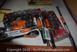 Lot of Large Socket Sets
