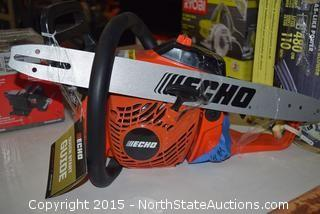 Echo Gas Powered Chain Saw