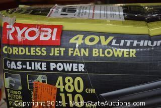 Ryobi Cordless Jet Fan Blower