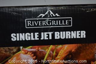RiverGrille Single Jet Burner