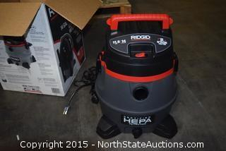 Ridgid 14-Gallon 2-Stage Hepa Commercial Wet and Dry Vac