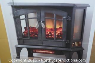 Hampton Bay Infrared Electric Heating Stove
