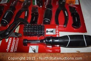 Husky Cutters, Pliers, Wrenches, Driver Tips, Screwdrivers