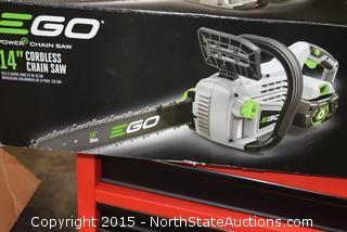 "EGO 14"" Cordless Chain Saw"
