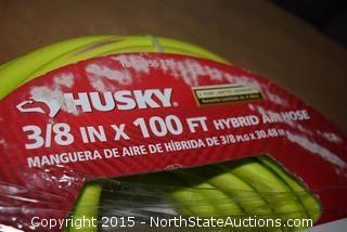 """Husky 3/8"""" x 100' Hybrid Air Hose"""