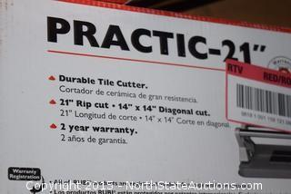 "Rubi Practic-21"" Tile Cutter"