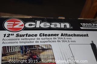 "EZ Clean 12"" Surface Cleaner Attachment"