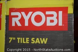 """Ryobi 7"""" Wet Tile Saw"""