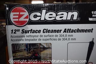 "EZ Clean 12"" Surface Cleaner Attachment"