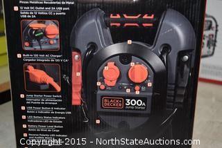 Black & Decker 300amp Jump Starter