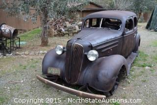 1937 Chevy 4 Door Sedan