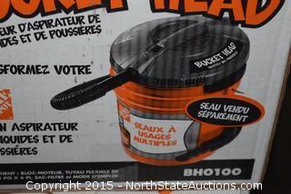 2 Ridgid Bucket Head Wet and Dry Vacs