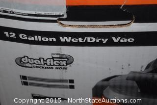 Ridgid 12-Gallon Wet and Dry Vac
