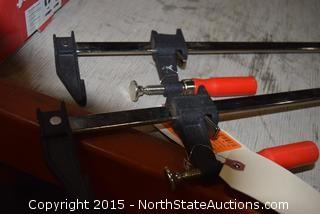 2 Bessey Bar Clamps