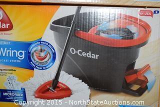 2 Cedar EasyWring Spin & Mop Bucket System