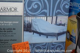 Patio Armor Chaise Lounge, Table & Chair Cover Sets