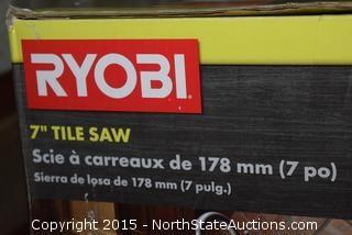 """Ryobi 7"""" Tile Saw"""