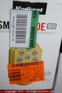Kwikset Smart Code Touchpad Electronic Deadbolt, Powerbolt2 Touchpad Keyless Entry