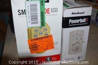Kwikset Smart Code Touchpad Electronic Deadbolt, Powerbolt2 Touchpad Keyless Entry