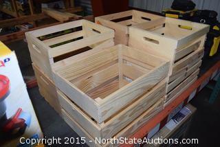 7 Planter Crates