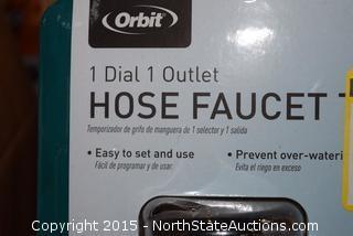 4 Orbit Garden Hose Faucet Timers