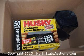 Husky Contractor Clean-Up Bags