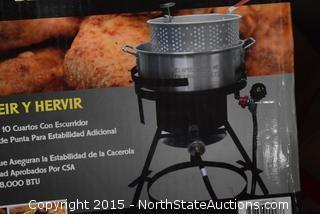 RiverGrille 10-Quart Aluminum Fish Fryer