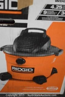 Ridgid 9-Gallon Wet and Dry Vac