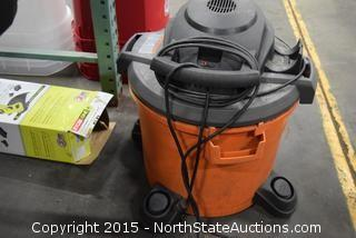 Ridgid 12-Gallon Wet and Dry Vac