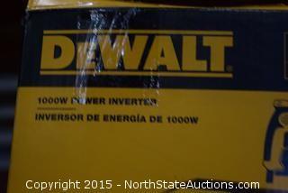DeWalt 1000 Watt Power Inverter