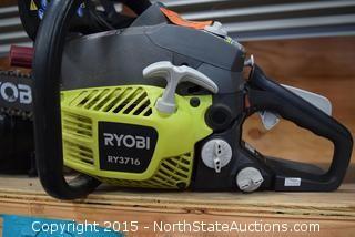 Ryobi Gas Powered Chain Saw