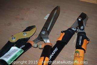 Fiskars Branch Trimmers, Hedgers, Clippers