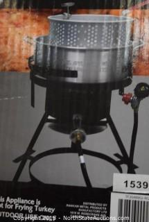 RiverGrille 10-Quart Aluminum Fish Fryer Kit