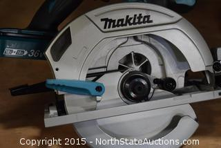 "Makita 18V LXT Lithium-ion Cordless  7 1/4"" Circular Saw"