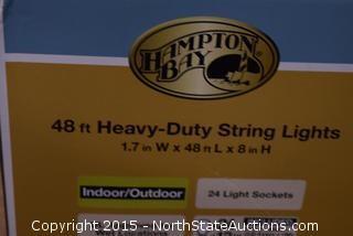 Hampton Bay 48' Heavy-Duty String Lights