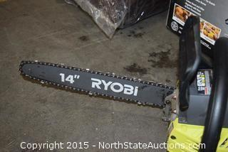 Ryobi 2-Cycle Gas Powered Chain Saw