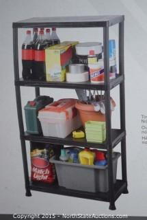 HDX 4-Shelf Storage Unit