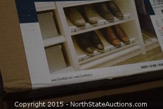 """7 ClosetMaid Easentials 24"""" Shoe Shelves"""