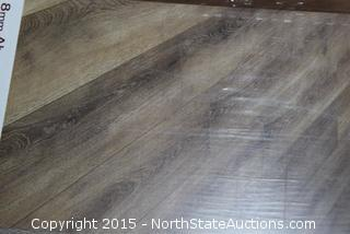5 Boxes of Home Decorators Collection Laminate Flooring