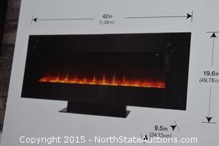 """Home Decorators Collection 42"""" Infrared Table/Wall Mount Fireplace"""