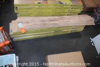 5 Boxes of Traffic Master Laminate Flooring