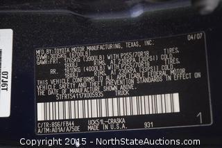 2007 Toyota Tundra SR5 Pickup