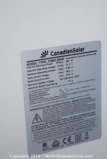 5 CanadianSolar Solar Panels