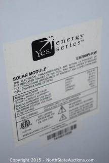 5 Yes Energy Series Solar Panels