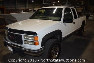 1997 GMC 4X4  Extended Cab Pickup Turbo Diesel!
