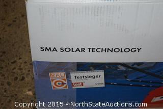 New SMA Solar Inverter
